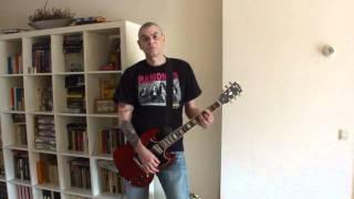 MISFITS - HORROR BUSINESS (guitar cover)