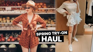 SPRING TRY-ON CLOTHING HAUL | Zara, Princess Polly, Spell & The Gypsy