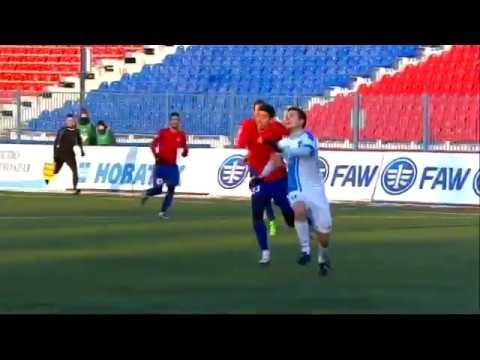 СКА-Энергия - Сибирь 2:0. Видеообзор матча 13.11.2016. Видео голов и опасных моментов игры