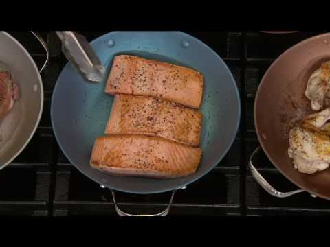 """CooksEssentials 3qt 11"""" Lightweight Cast Iron Everyday Pan on QVC"""