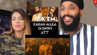 Ask Them | Gippy Grewal Ft Karan Aujla | Full Video | REACTION