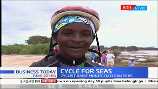 Cyclists ride for 680 KM in an attempt to raise money to clean seas