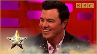 Seth MacFarlane performs his Family Guy voices | The Graham Norton Show - BBC