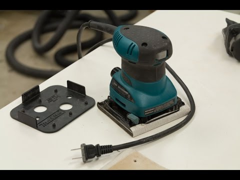 Makita 1/4 Sheet Finish Sander Review