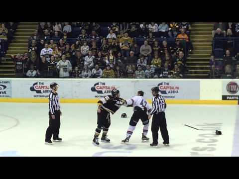 Cam Janssen vs. Adam Keefe