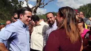 Gobernado inaugura nuevo puente en Río Abajo en Utuado