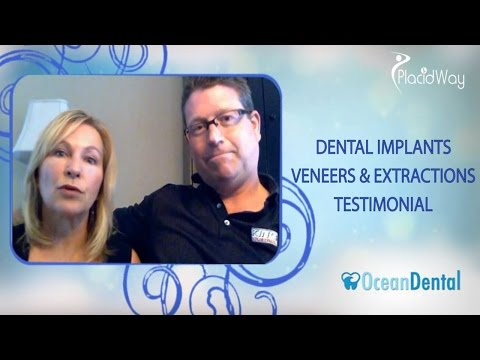 Dental Implant Testimonial in Mexico | Ocean Dental Cancun