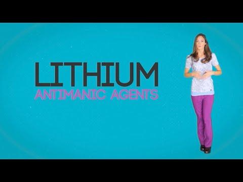 Video Bipolar Medication:  Lithium
