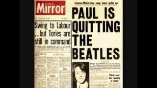 PAUL McCARTNEY - Quits The Beatles