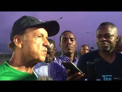 ROAD TO RUSSIA 2018: Gernot Rohr picks goalkeeper for Zambia match