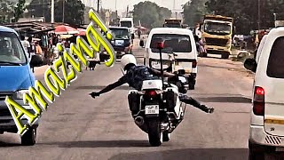 🏍️ Amazing Police Escorts in West Africa