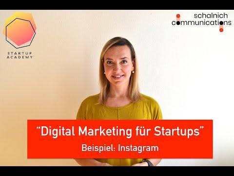 Digital Marketing für Startups - Instagram
