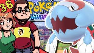 Arctozolt  - (Pokémon) - Fossil Pokemon Dracovish & Arctozolt | Pokemon Sword & Shield Co-op Gameplay | Stow On Side