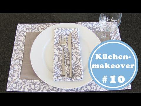 Briefecken nähen | ausführlich erklärt  | Tischset - Küchenmakeover 10