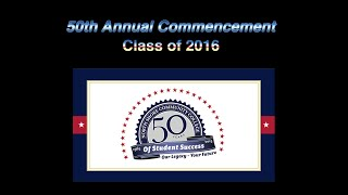 50th Annual Commencement 2016