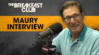 The Breakfast Club - Maury Talks Accuracy Of Lie Detector, Past Relationship w/ Donald Trump + More
