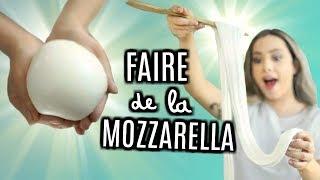JE FAIS DE LA MOZZARELLA