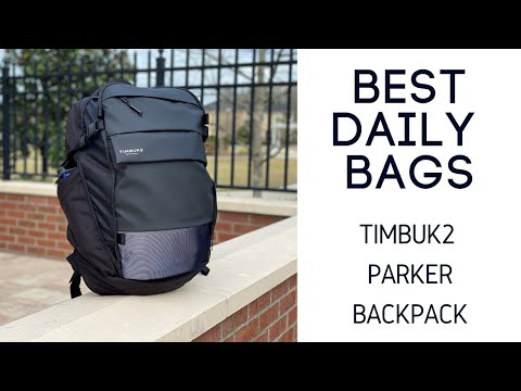 Best Tech / Cycling Bags: Timbuk2 Parker Commuter Expandable Backpack Review