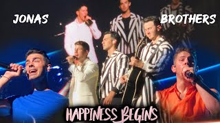 Jonas Brothers: Happiness Begins Tour Miami [1st Show + Front Row Pit] Full Concert HD   080719