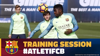 Recovery Monday with trip to Atlético on the horizon