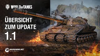 Übersicht zum Update 1.1 [World of Tanks Deutsch]
