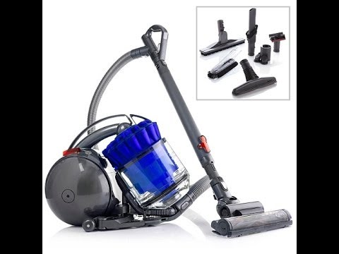 DC39 MultiFloor Canister Vacuum with Accessories  Blue
