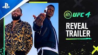 PlayStation UFC 4 - Official Reveal Trailer anuncio