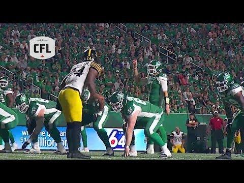 CFL Recap: Hamilton at Saskatchewan - wk.8 2019