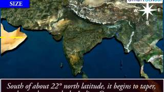 India: Size and Location | Geography