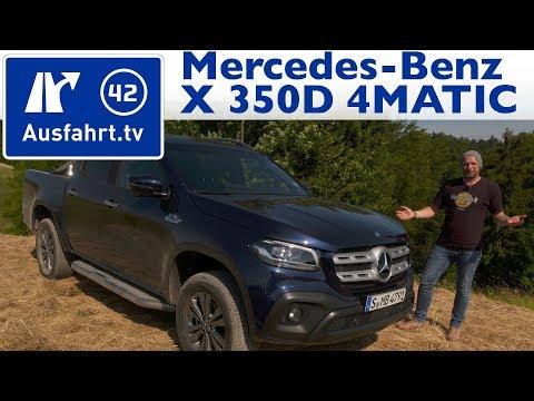 2018 Mercedes-Benz X 350d 4MATIC  - Kaufberatung, Test, Review