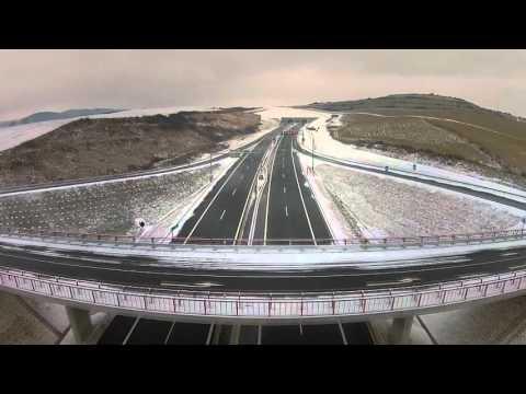 Otwarto nowy odcinek słowackiej autostrady z tunelem