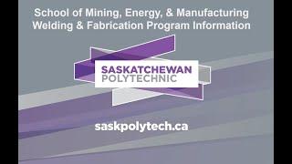 Careers in Welding 2021 – Saskatchewan | SaskPolytech Welding and Steel Fabrication programs