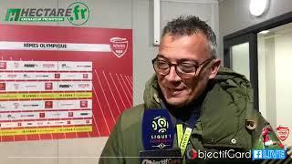 Réactions Après La Victoire Du Nîmes Olympique Face à Caen