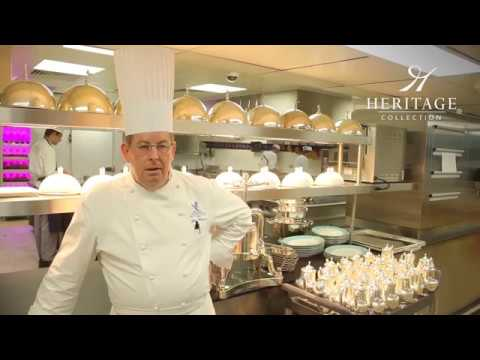 John Williams, Executive Chef at the Ritz, reviews Heritage Collection