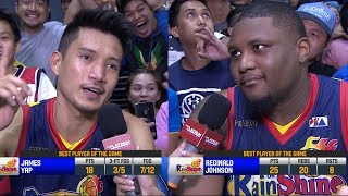 [Sport5]  Best Players: James Yap and Reggie Johnson   PBA Commissioner's Cup 2018