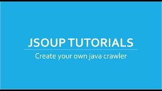 Web Crawler/Scraper in Java using Jsoup Tutorials # 5 | Transformation of HTML elements