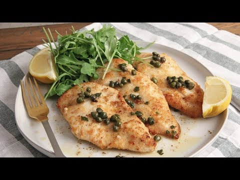 Healthy Chicken Piccata Episode 1221