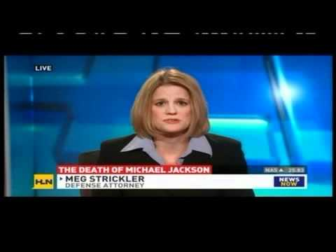 Meg Strickler on HLN discussing Conrad Murray and the death of Michael Jackson 11/2/11