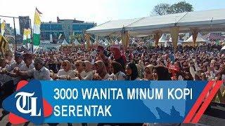 Festival Kopi Lampung 2019, 3000 Wanita Minum Kopi Serentak untuk Pecahkan Rekor Muri
