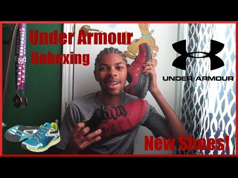 Unboxing + Review | Under Amour Toccoa Shoes | Heyitzdr3