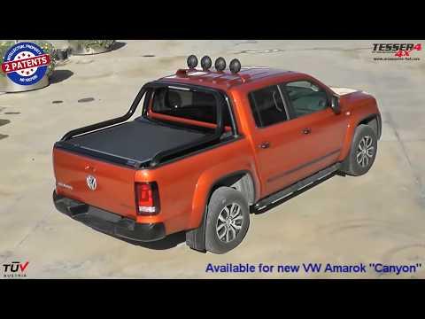 VW Amarok (Canyon) roller lid shutter