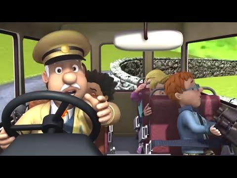 Vészhelyzet a buszon! 🔥Sam a tűzoltó | Epizódok összeállítása | összeállítás