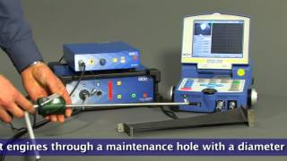 Eddy Current Edge Inspection with Video Endoscope