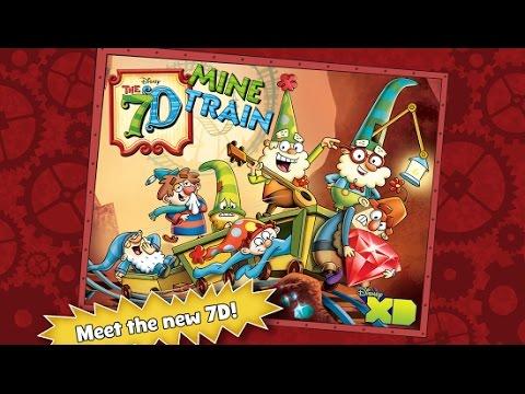 Vídeo do The 7D Mine Train