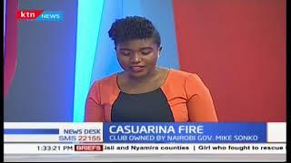 Casuarina club owned by Nairobi MP Mike Sonko in Buruburu razed down