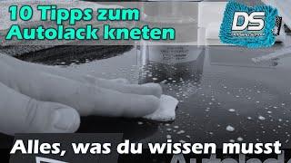Autolack kneten - ALLES was du über das Autolack-Kneten wissen musst! Die 10 ultimativen Tipps