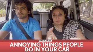 FilterCopy   Annoying Things People Do In Your Car   Ft. Ayush Mehra, Viraj Ghelani