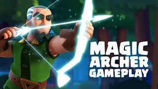 Clash Royale: Magic Archer Gameplay Reveal!