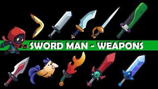 SWORD MAN - MONSTER HUNTER !!!ALL WEAPONS!!! Part 1