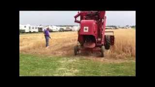 International Harvester Combine